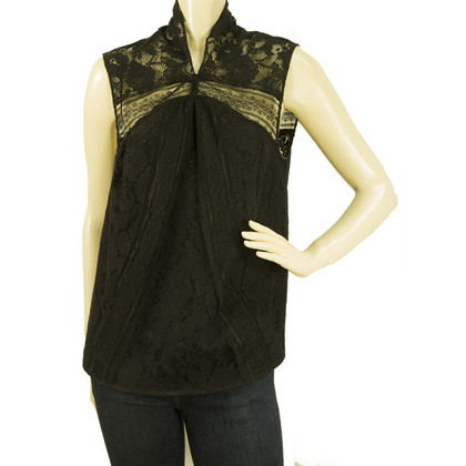 Zac Posen Black Lace top