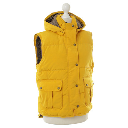 Aigle Quilted vest in yellow