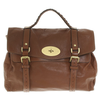"Mulberry ""Alexa Bag Oversized"" in brown"