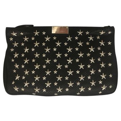 Jimmy Choo clutch with stars