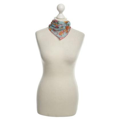 Dolce & Gabbana Zijden sjaal met vlinders