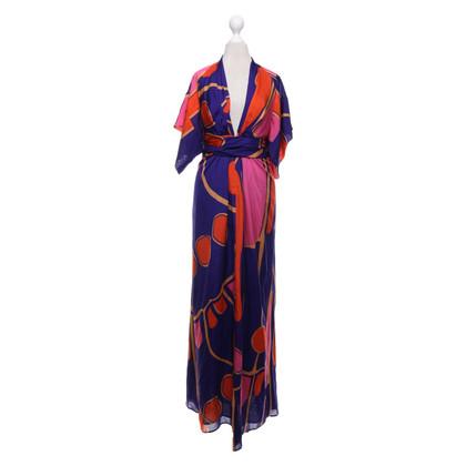 Issa Seidenkleid in Multicolor