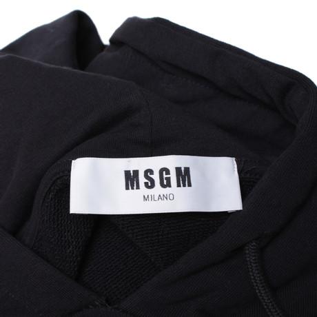 Schwarz Cropped MSGM Cropped Schwarz Sweatshirt MSGM in Schwarz in Sweatshirt Schwarz RqXwxttEfd