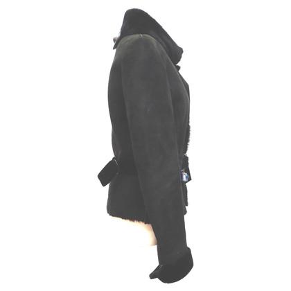 Valentino Lambskin jacket with velvet