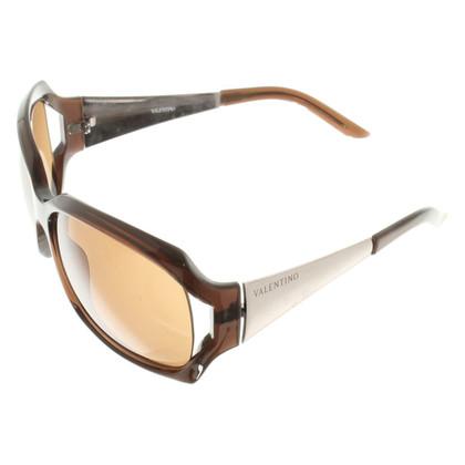 Valentino Sonnenbrille in Braun