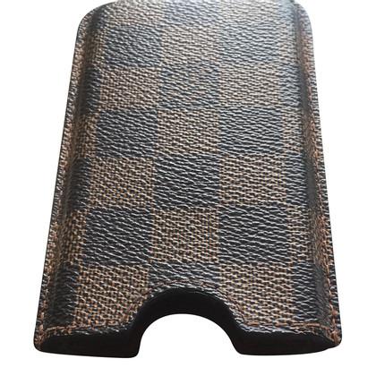 """Louis Vuitton """" Iphone 4S Case Damier Ebene Canvas"""""""