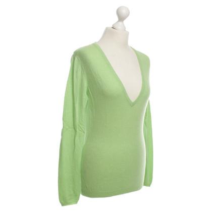 Brunello Cucinelli Cashmere sweater in Apple green