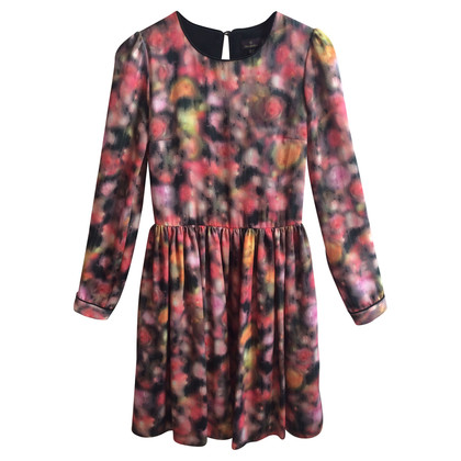 Mulberry Colorful silk dress