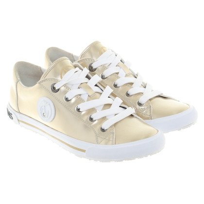Armani Jeans Gold-colored sneakers