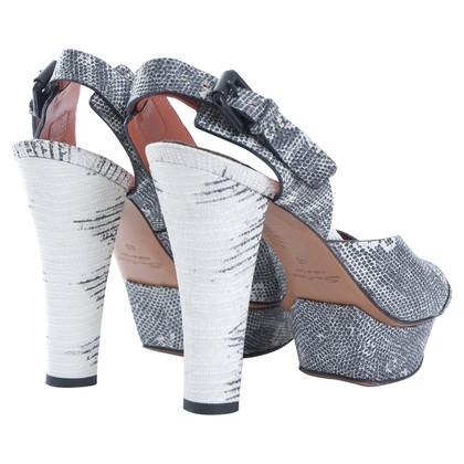 Santoni Platform shoe