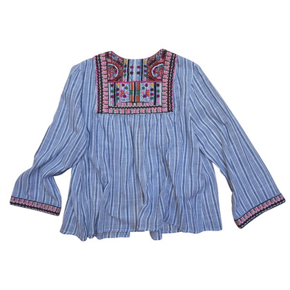 Velvet Jacket in folklore style