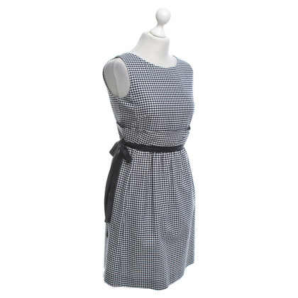 Red Valentino Dress with checked pattern