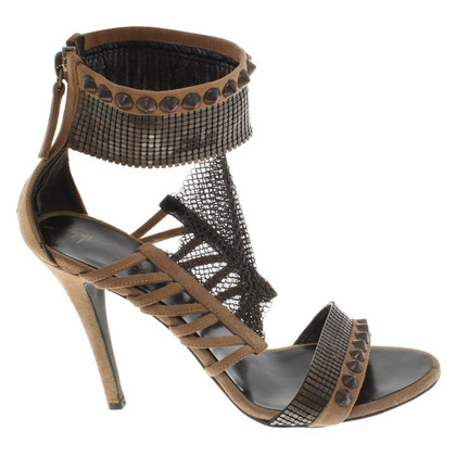 Balmain Sandals with chain detail