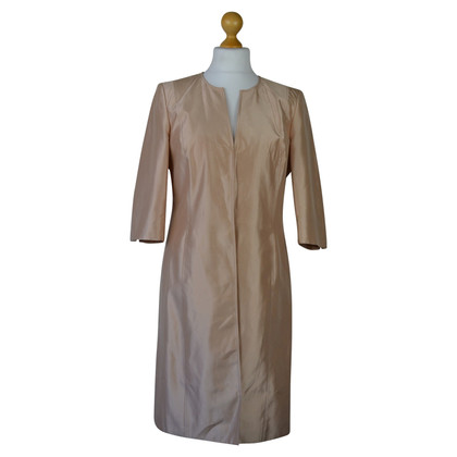 Whistles Champagne Pink Satin Dress Cappotto