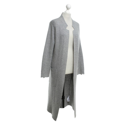 Allude Strickmantel in Grau