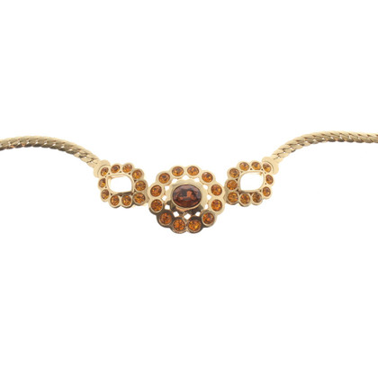 Christian Dior Collier met sieraden stenen