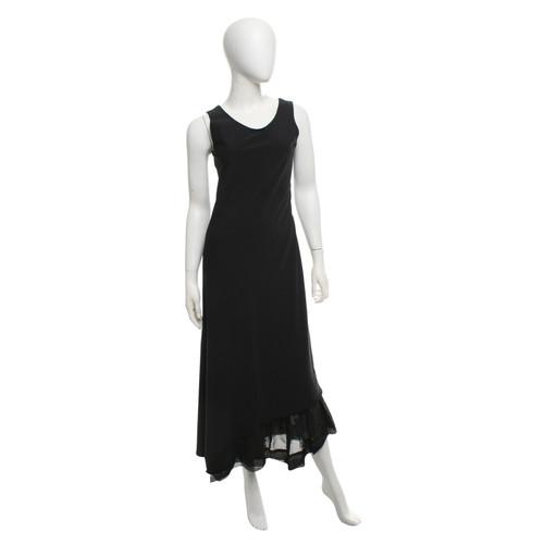 2b7dee45a86 Marithé et Francois Girbaud Maxi dress in black - Second Hand ...
