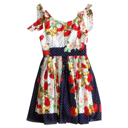 Dolce & Gabbana Gedrukte jurk