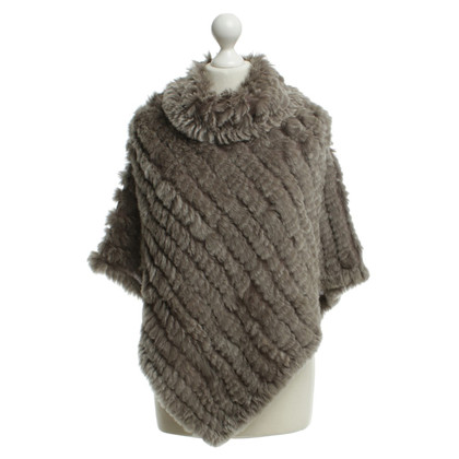 Oakwood Fell poncho in taupe