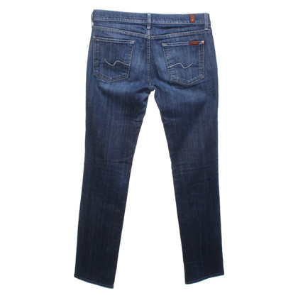 7 For All Mankind Jeans en bleu foncé