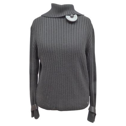 Chanel maglione maglia con colletto