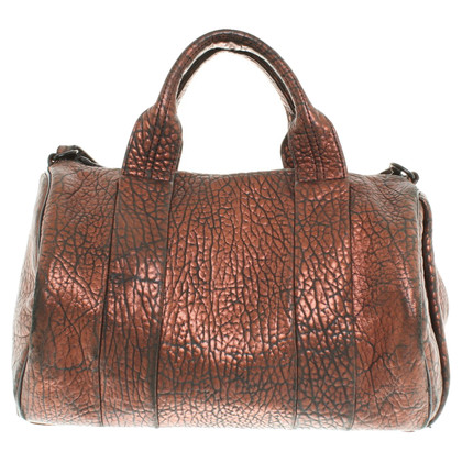 "Alexander Wang ""Rocco Bag"" in metallic look"