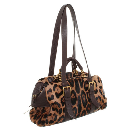 Dolce & Gabbana Handbag with leopard pattern