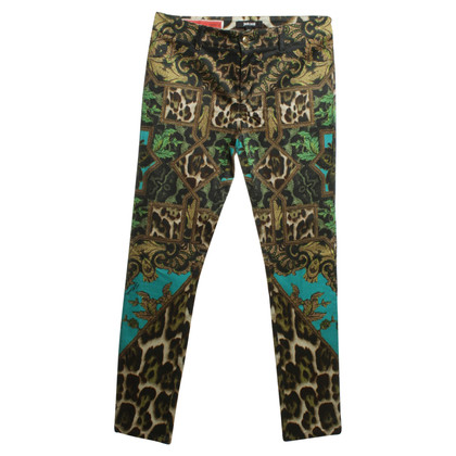 Just Cavalli Pants with colorful pattern