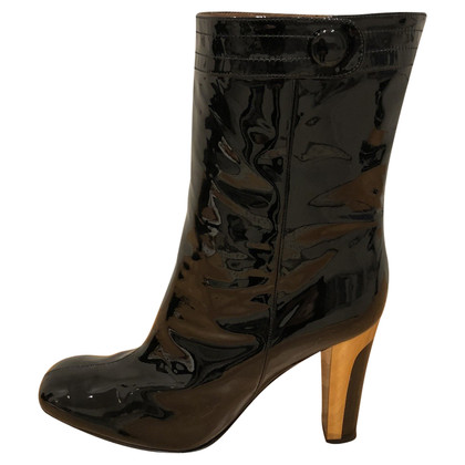 Barbara Bui Boots patent leather