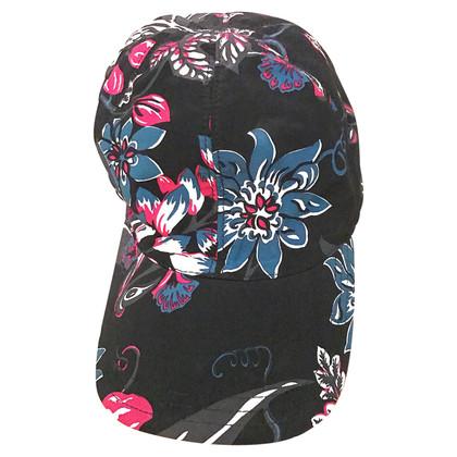 Prada Cap met bloemenprint