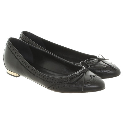 Burberry Ballerina's in zwart