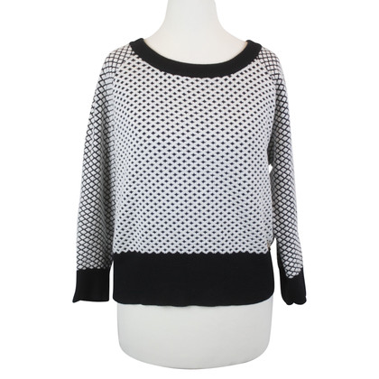 Patrizia Pepe Sweater in black and white