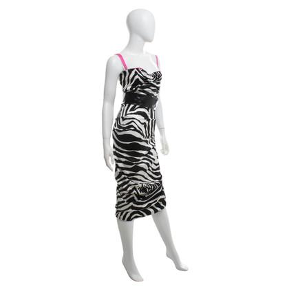 D&G Dress with zebra pattern