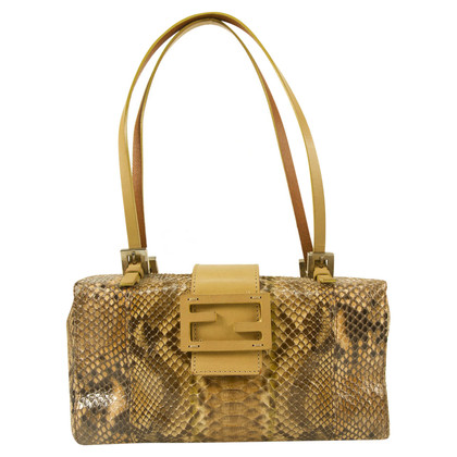 Fendi Python leather handbag