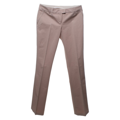 Schumacher Sand-colored bootcut trousers
