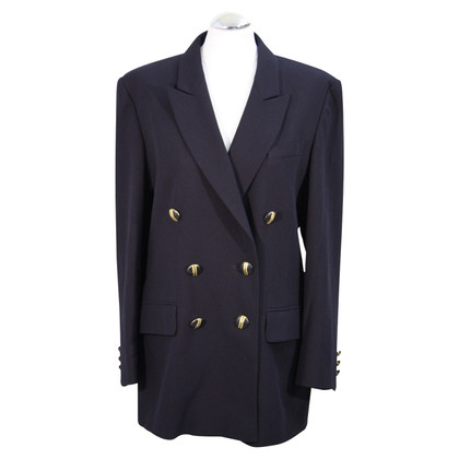 Basler Double breasted blazer in blue