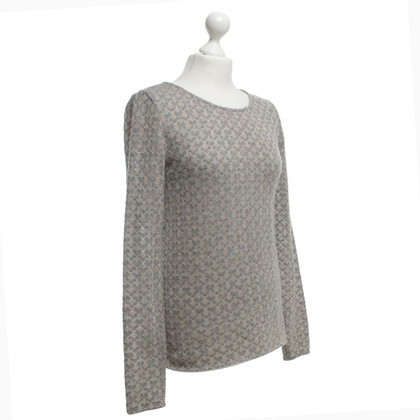 Odeeh Knitted jumper with heart pattern