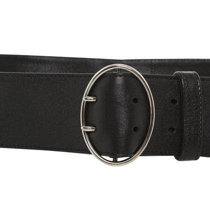 Prada Leather belt in black