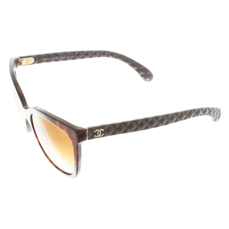 Chanel Sunglasses with tortoiseshell pattern - Buy Second hand ...