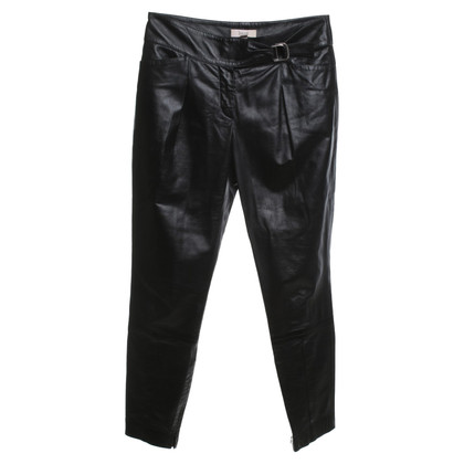 Laurèl Leather pants in black