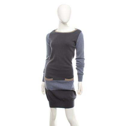 FFC Knit dress in tricolor