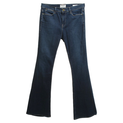 Frame Denim Bootcut Jeans in Blauw