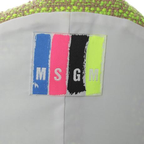 Muster mit Bunt Details MSGM MSGM Weste Weste q84aaw