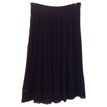 Isabel Marant Silk skirt with embroidery