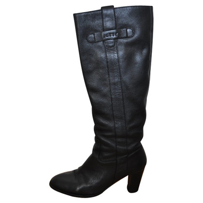 JOOP! Black leather boots