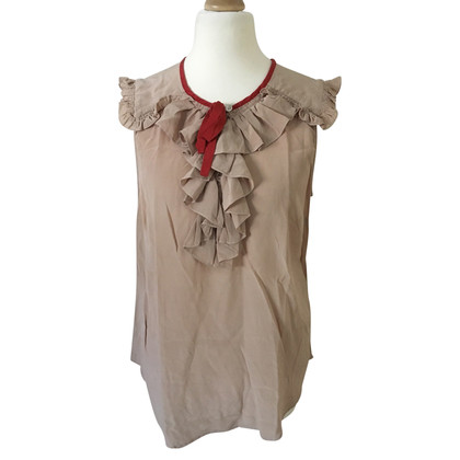 Claudie Pierlot silk blouse