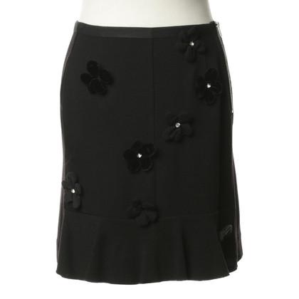 Sonia Rykiel skirt with flower details