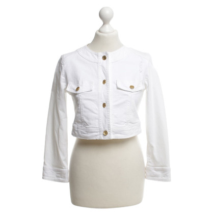 Dolce & Gabbana Jeans jacket in white