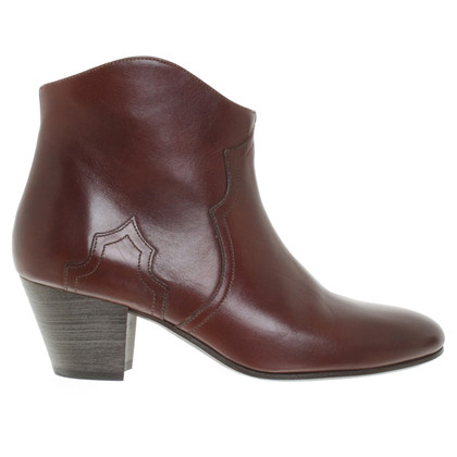 Isabel Marant Ankle boots in Bordeaux red