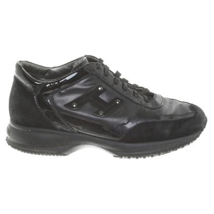 Hogan Sneakers in Schwarz